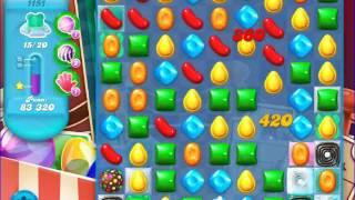 Candy Crush Saga SODA Level 1151 CE