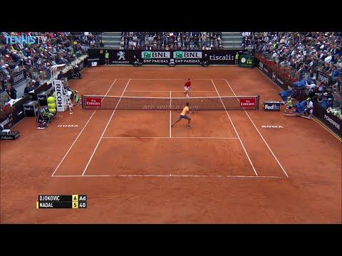 2016 Internazionali BNL d'Italia - Quarter Finals ft. Novak Djokovic v Rafa Nadal