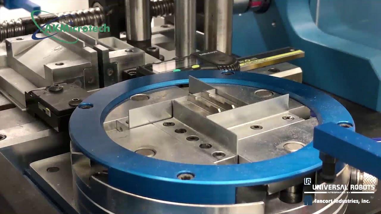 Роботизированная формовка и обрубка выводов микросхем от компании Fancort