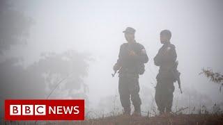 Fighting and heavy gunfire on Myanmar-Thailand border - BBC News