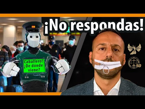NO RESPONDER A PREGUNTAS DE LA POLICÍA