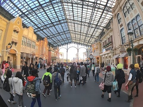 Tokyo Disneyland World Bazaar Walk-through | CarNichiWa.com