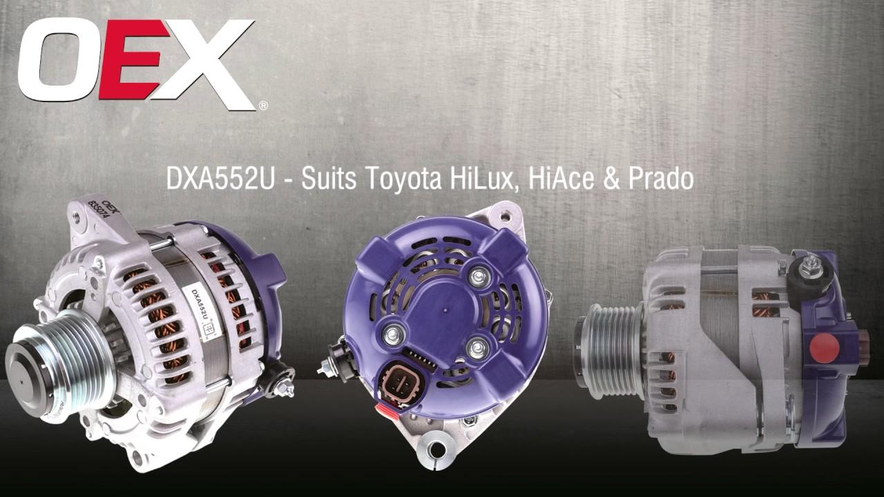 Bosch Alternator Wiring Diagram Holden Dixie Chopper Oex Toyskids Co Dxa552u Youtube