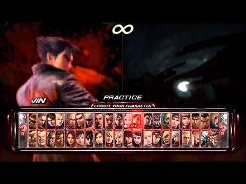 Tekken 6 Psp Using Weapons Youtube