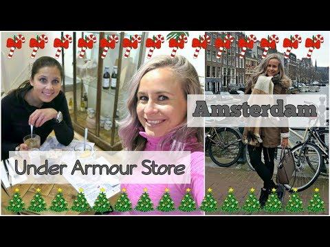 Vlogmas #4 - Dagje Amsterdam, Opening Under Armour Store