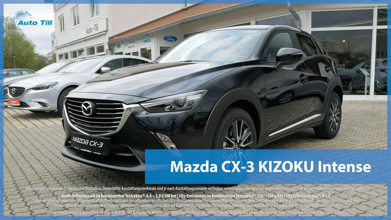 mazda cx 3 kizoku intense 2017 sondermodell design. Black Bedroom Furniture Sets. Home Design Ideas