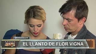 Flor Vigna se fue llorando de la pista de Showmatch