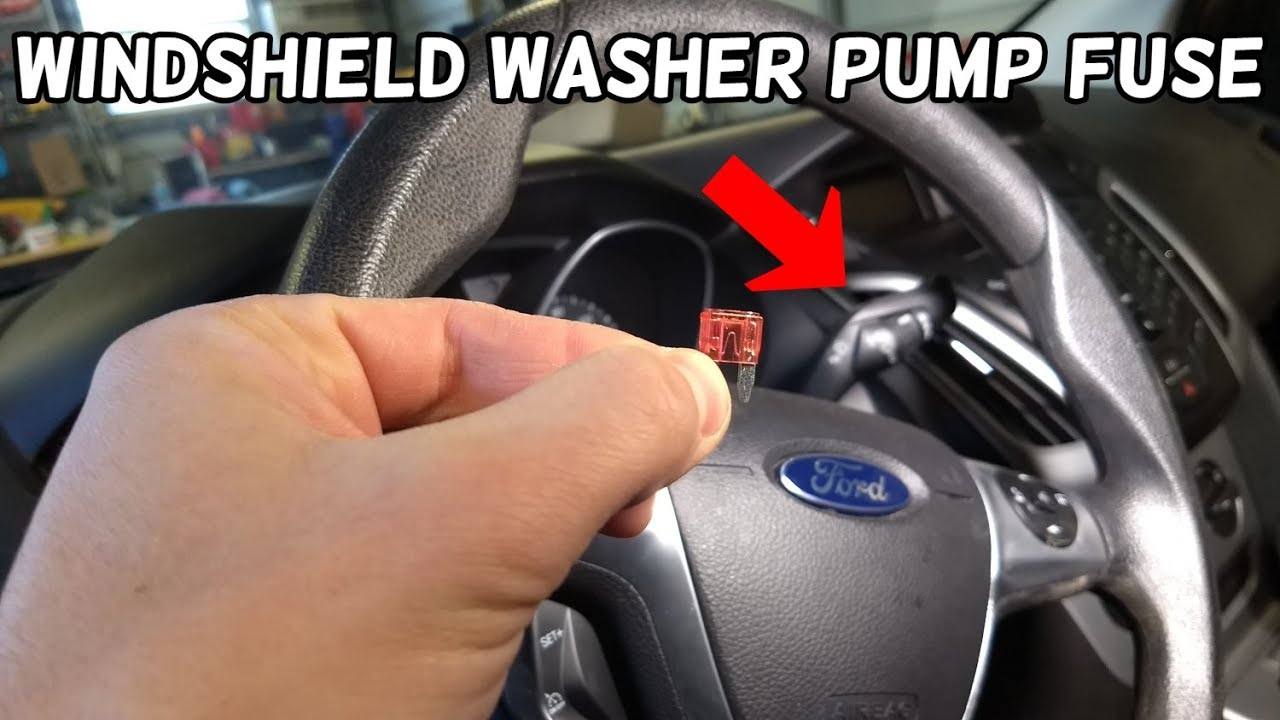 Windshield Washer Pump Does Not Work Fuse Location