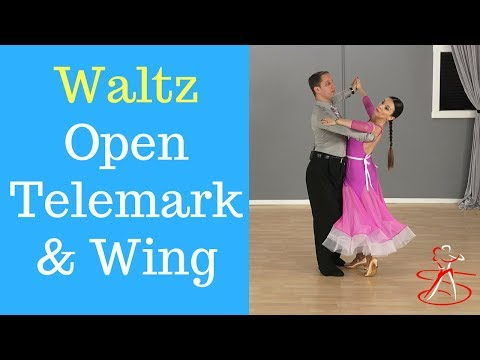 Waltz Open Telemark And Wing - Silver Level (Ronen Zinshtein & Mariam Izmaylova)