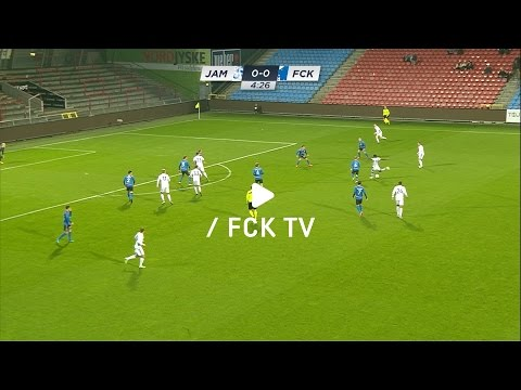 Første mål for FCK: Se Keitas kanonspark
