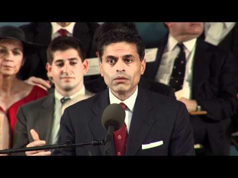 Fareed Zakaria Commencement Speech || Harvard University Commencement 2012
