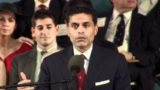 Fareed Zakaria Commencement Speech || Harvard University Commencement 2012 thumbnail