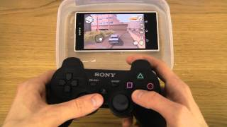 GTA San Andreas Under Water Sony Xperia Z1 HD Gameplay Test
