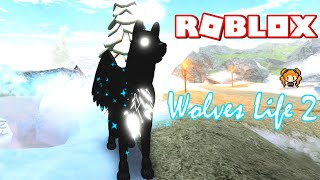 ROBLOX WOLVES LIFE 2 ANGEL WOLF, Nature Wolf and Frosty Wolf + WHY I Love this GAME