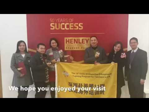 Henley College Coventry welcomes visitors from Shenzhen