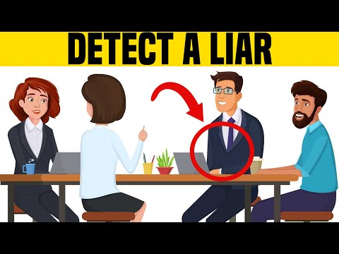 How to Spot a Liar Immediately