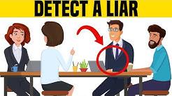 How to Spot a Liar Immediately