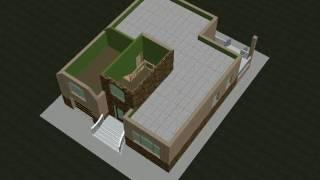 видео Проект кирпичного одноэтажного дома c мансардой общей площадью 316.00 м2