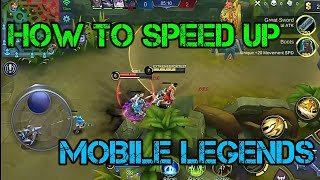 Mobile Legends:How to Remove Lags
