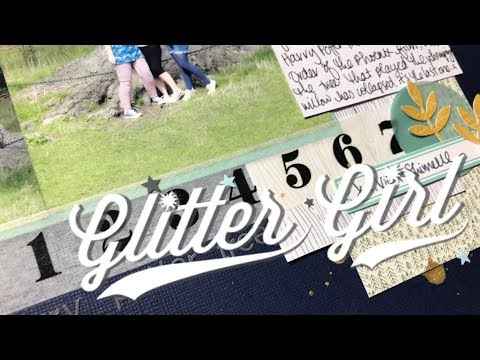 Glitter Girl Adventure 158: Small Supplies, Large Page
