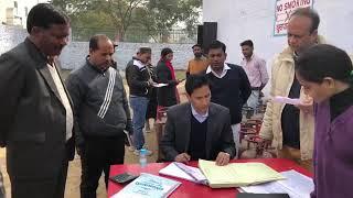 Gas agency inspection DM Deepak Rawat(2019)