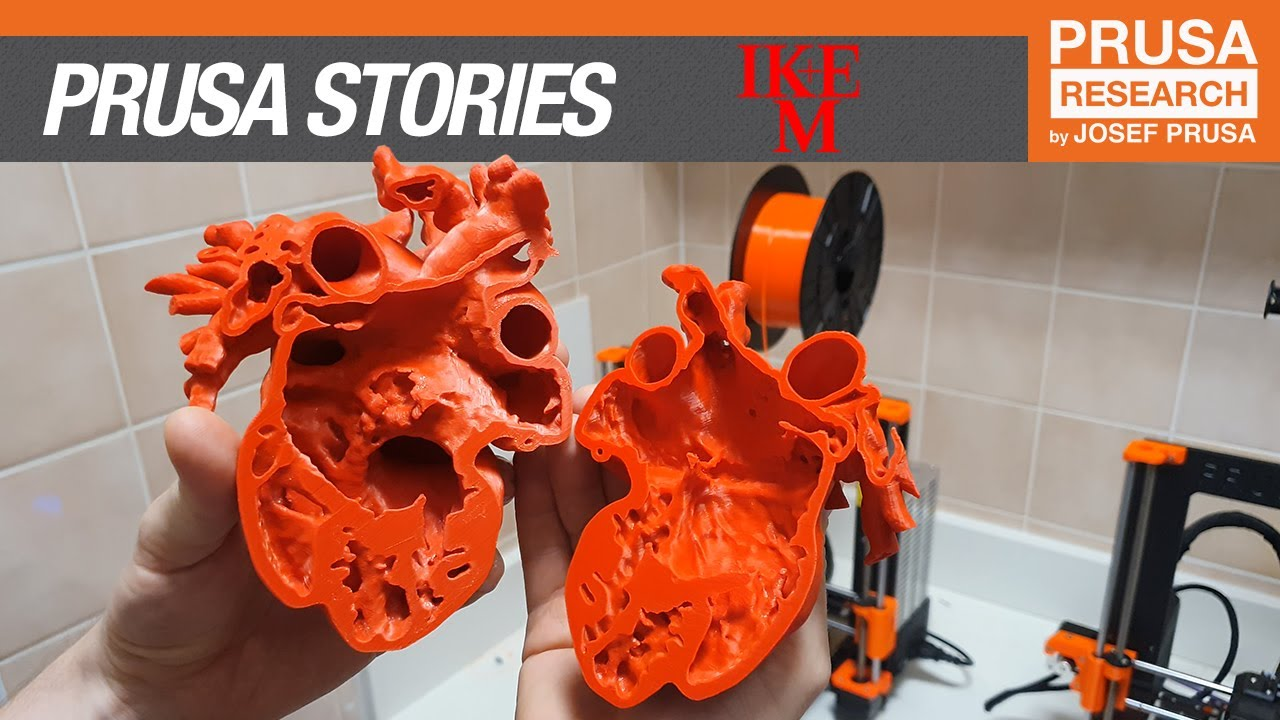 Download Prusa 3D printing stories:  Institute for Clinical and Experimental Medicine (IKEM)