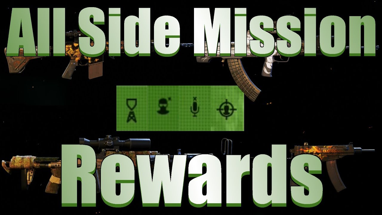Watch Dogs  Side Mission Rewards