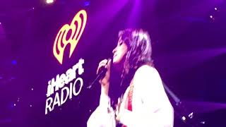 "Camila Cabello- ""Never Be the Same"" iHeart Radio Jingle Ball 2017 D.C."