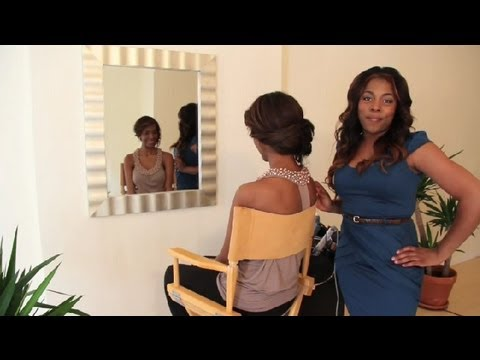 Prom Styles for AfricanAmerican Hair  Styling AfricanAmerican Hair  YouTube