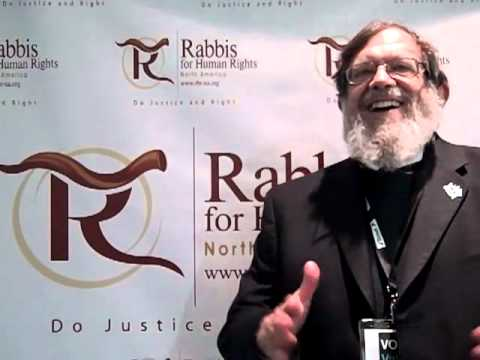"""I Am a Rabbi for Human Rights"" - Rabbi Michael Lerner"
