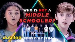 6 Middle Schoolers vs 1 Secret 5th Grader