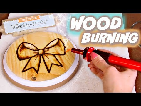 PYROGRAPHY?! Testing a WOOD BURNING Kit for Beginners