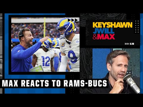 Max's thoughts on the Rams' big win over the Bucs   Keyshawn, JWill & Max