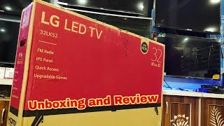 LG 32 inch HD LED TV || 2018 NEW || mod. 32LK52 Unboxing and Review || by technical attachment
