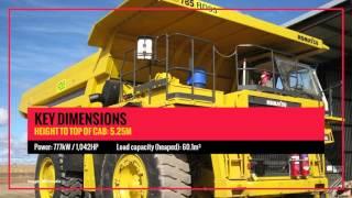 Featured Equipment: Komatsu HD785-5 Dump Truck | National Plant & Equipment