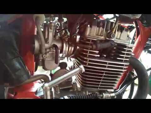 HONDA TIGER 240cc Bore Up Stroke Up Club HTML   Eleanor MotoVlog