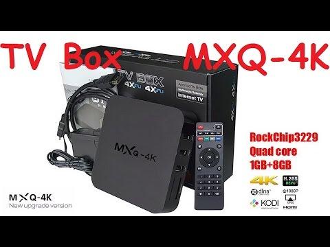 MXQ-4K TV Box на чипе Rockchip RK3229. AliExpress. Китай.