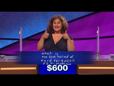 'Jeopardy!' contestant pays homage to 'SNL' with 'Turd Ferguson' answer