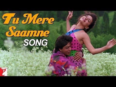 Tu Mere Saamne Song | Darr | Shah Rukh Khan | Juhi Chawla | Lata Mangeshkar | Udit Narayan