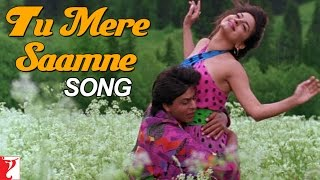 Download Video Tu Mere Saamne Song | Darr | Shah Rukh Khan | Juhi Chawla | Lata Mangeshkar | Udit Narayan MP3 3GP MP4