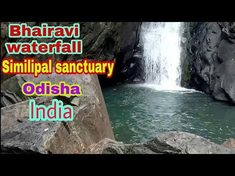 Bhairavi  waterfall video HD,Simlipal tiger reserve,Mayurbhanj,Odisha,India