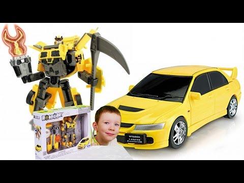 Roadbot Робот машинка Mitsubisi Motors Lancer Evolution 9  Игрушки для детей