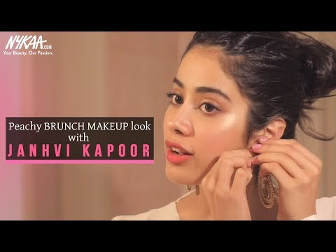 Get Ready With Janhvi Kapoor | Brunch Makeup Look | Nykaa