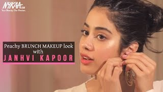 GRWM: Get Ready With Janhvi Kapoor | Brunch Makeup Look | Janhvi's Easy Daytime Look | Nykaa