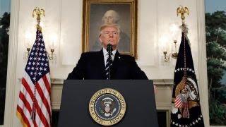 Trump doubles down on tough talk on North Korea