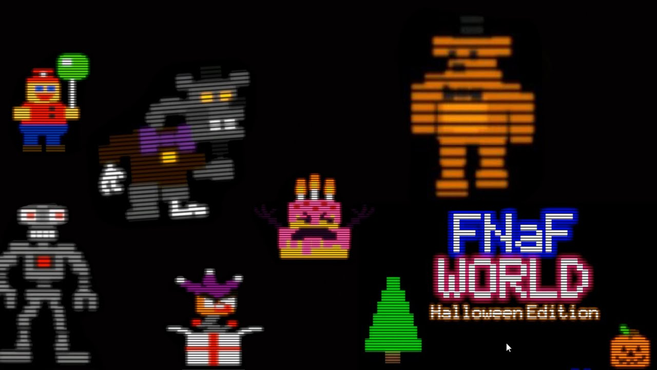 FREDDY CONTRA TODOS! - FNAF WORLD Halloween Edition (Troll Edition ...