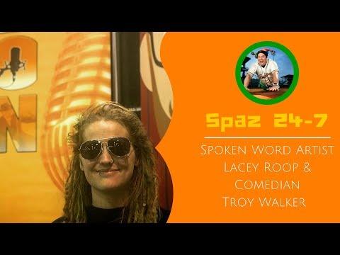Spoken Word Artist Lacey Roop and Comedian Troy Walker