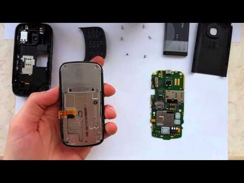 Nokia C2-06 2-Sim Disassembly and assembly