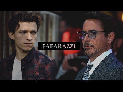 Tony Stark/Peter Parker || Paparazzi