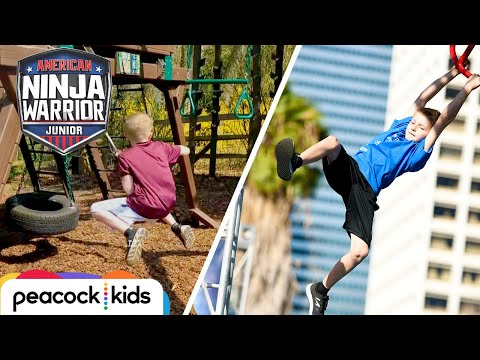 Parkour Training Leads To ANWJr. Course | AMERICAN NINJA WARRIOR JUNIOR